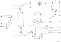 original parts for e36 320i m50 sedan    fuel preparation