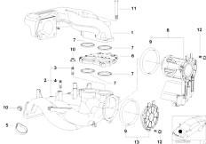 E46 316i 1.9 M43 Sedan / Engine/  Intake Manifold System