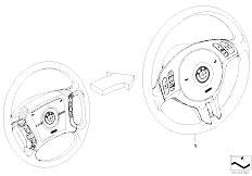 E46 316ti N42 Compact / Steering/  Modificat 4 Spoke Mfl Strng Whl Sport