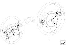 E46 316ti N42 Compact / Steering/  Modificat 4 Spoke Mfl Strng Whl M Sport