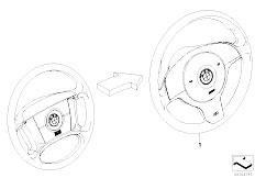 E46 316ti N42 Compact / Steering/  Modificat 4 Spoke Strng Whl M Sport