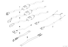 E39 520i M52 Sedan / Vehicle Electrical System/  Rep Cable Airbag-3