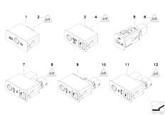 E90 316i N45N Sedan / Vehicle Electrical System/  Usb Aux In Socket