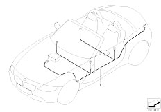 Electric Parts Airbag on wiring diagram for disabled alarm
