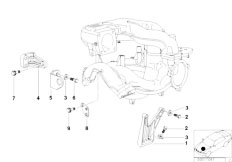 E46 316i 1.9 M43 Sedan / Engine/  Mounting Parts F Intake Manifold System