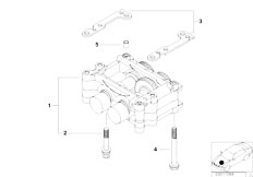 E46 316i 1.9 M43 Sedan / Engine/  Housing With Compensating Shafts
