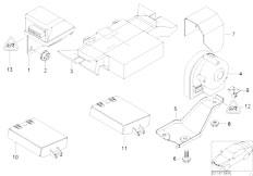 E46 316ti N42 Compact / Audio Navigation Electronic Systems/  Theft Alarm With Radio Burglar Alarm