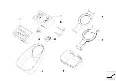 E46 M3 S54 Coupe / Vehicle Electrical System/  Rain Sensor Single Components