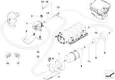 Original Parts for E53    X5    46is M62 SAV  Engine Cooling