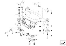 E46 316Ci M43 Coupe / Rear Axle/  Rear Axle Carrier