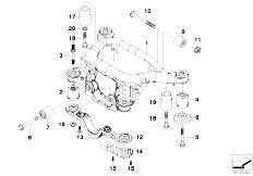E46 316Ci M43 Coupe / Rear Axle/  Rear Axle Carrier