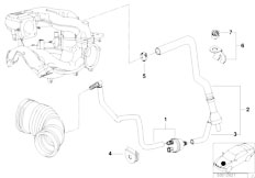 E46 316i 1.9 M43 Sedan / Engine/  Vacuum Control Engine