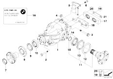 bmw e46 differential diagram  bmw  free engine image for