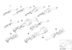 E46 325Ci M54 Cabrio / Vehicle Electrical System/  Pin Contacts Elo