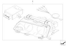 E46 M3 S54 Coupe / Vehicle Electrical System/  Retrofit Kit Cornering Light