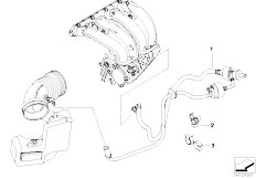 E46 316Ci N45 Coupe / Engine/  Vacuum Control Engine
