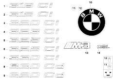 E46 330Ci M54 Coupe / Vehicle Trim/  Emblems