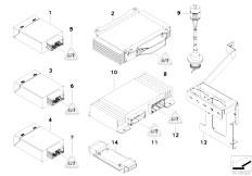 E90 316i N45N Sedan / Vehicle Electrical System/  Authorities Package