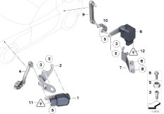 33326760346 together with Rear Axle Carrier additionally Belt Drive Alternator Ac Power Steering 2 moreover  on bmw n52n diagram
