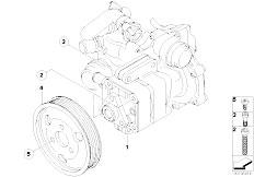E46 316ti N42 Compact / Steering/  Power Steering Pump