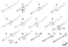 E46 325Ci M54 Cabrio / Vehicle Electrical System/  Cable Strap