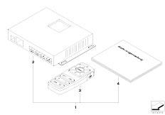 E46 316ti N42 Compact / Audio Navigation Electronic Systems/  Retrofit Kit Settop Box