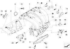 E46 316ti N42 Compact / Engine/  Intake Manifold System
