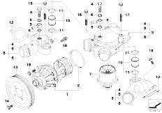 E39 Engine View furthermore Bmw S85 Engine Timing likewise Bmw N53 Engine likewise Bmw Piston Rings additionally White Smoke From X5 Exhaust. on bmw m54 engine diagram