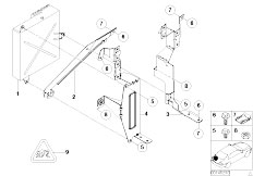 56182 Logic 7 Im E91 Nachr C3 BCsten Von Standard Soundsystem further Wiring Diagram For Stereo  puter Speakers furthermore Harman Kardon Wiring Diagram as well Rear Window Antenna also  on bmw e46 harman kardon wiring diagram