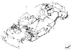 E90 316i N45N Sedan / Vehicle Electrical System/  Main Wiring Harness Duplicate