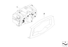 E90 316i N45N Sedan / Vehicle Electrical System/  Control Element Light