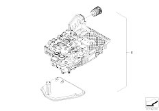 Fuel Supply as well Exhaust system rear as well Particulate Filters as well Single Parts F Transfer Case Atc 400 further 2005 Bmw X3 Exhaust Diagram. on bmw x3 exhaust system