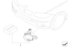 E90 316i N45N Sedan / Vehicle Electrical System/  Retrofit Kit Cornering Light