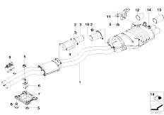 Exhaust System on bmw e46 automatic transmission
