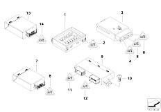 E90 316i N45N Sedan / Vehicle Electrical System/  Control Units Modules