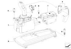 original parts for e70 x5 n62n sav gearshift gear. Black Bedroom Furniture Sets. Home Design Ideas