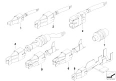 E39 520i M52 Sedan / Vehicle Electrical System/  Double Leaf Spring Contact