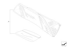 E46 318Ci N46 Cabrio / Sliding Roof Folding Top/  Wind Deflector-2