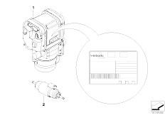 E90 320si N45 Sedan / Heater And Air Conditioning/  Ersatzteile Standheizung Sonderzubehor