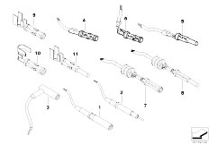 E90 316i N45N Sedan / Vehicle Electrical System/  Circular Connector D 2 5 Mm System