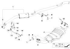 Bmw X3 Exhaust Diagram