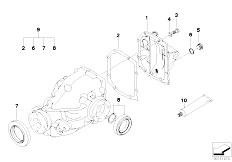 E46 316Ci M43 Coupe / Rear Axle/  Final Drive Gasket Set