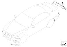 E46 330Ci M54 Coupe / Vehicle Trim/  Carbon Fibre Kit E46