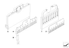 E90 316i N45N Sedan / Vehicle Electrical System/  Comb Type Connector