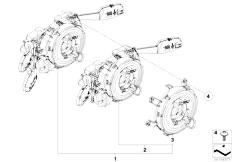 E90 316i N45N Sedan / Vehicle Electrical System/  Switch Unit Steering Column