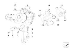 E46 316ti N42 Compact / Brakes/  Hydro Unit Dsc Fastening Sensors-4