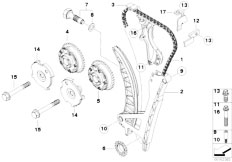 E46 316Ci N45 Coupe / Engine/  Timing And Valve Train Timing Chain