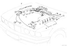 bmw m60 engine wiring harness diagram    1100 x 716