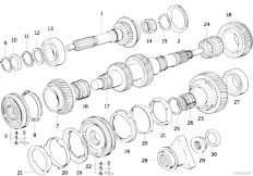 bmw e46 lighting diagram with Gs5s31bz Smg Counter Shaft Reverse Gear on Index additionally Gs5s31bz Smg Counter Shaft Reverse Gear together with Retrofit Guide moreover Final Drive Gasket Set in addition Cooling System Water Hoses.