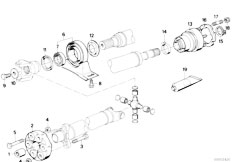 E39 Coolant Hose Diagram moreover 17121712736 likewise 13711707767 likewise Front axle additionally Drive Shaft Constant Velocity Joint. on bmw 535i manual transmission